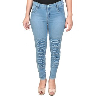 nuttials store Womens Slim Fit Jeans