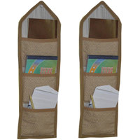 JBG Home Store Beautiful Wall Hanging With 3 Pockets ( Pack Of 2)