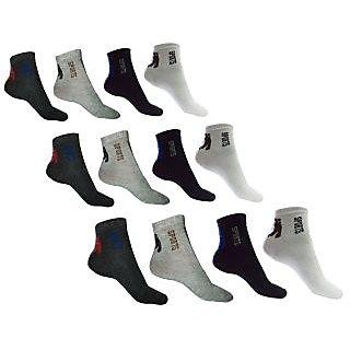Ankle socks pack of 12 pairs