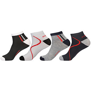 KHI Runner Extra Stretchable Unisex Footies Socks (Pack Of 5)