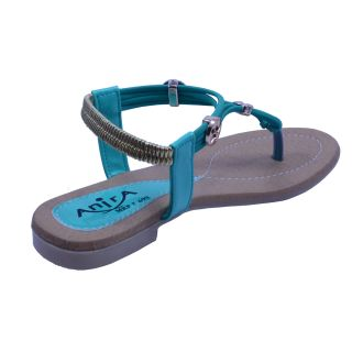 Anira Fashion- Nature Green Sandals  / for Women and Girls (Formal  Casual)