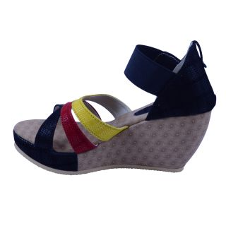 Anira - Designer Multi Color heel wedges Sandal for Girls