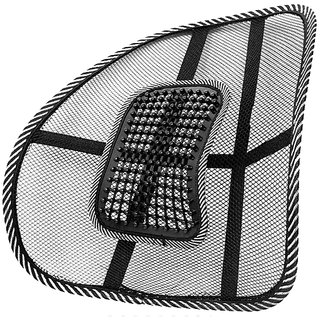Capeshoppers Air mesh Back rest For Maruti WagonR K Series 2012