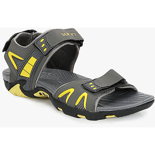 Spinn Stride MenS Grey,Yellow Floaters
