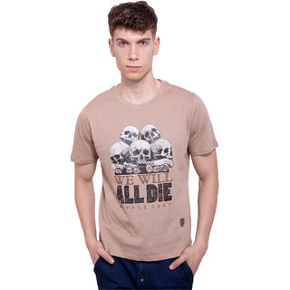DAPPLE GREY Mens Casual Wear Smart Cotton Tshirt
