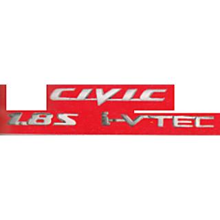 Buy Logo Honda Car Civic 1 8s I Vtec Monogram Car Emblem Chrome
