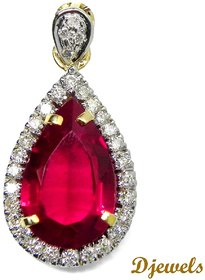 Djewels Designer Diamond Gold Pendant