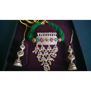 Stone work Jewellary Set