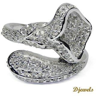 Djewels Wedding White Gold Ring
