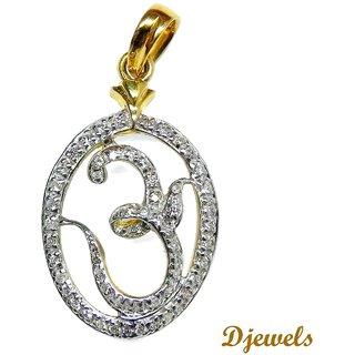 Djewels Diamond Pendant Om Pendant