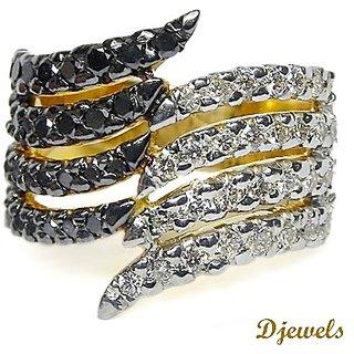 Djewels Black Dimaond Ring