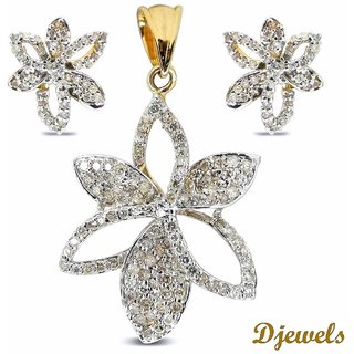 diamond penant pendant unique set k us designer jewelry