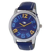 Tigerhills Mens Blue And Blue  Watch