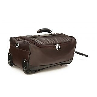 MBOSS Faux leather Wheeler Travel Duffel  Bag