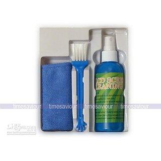 Wholesale - LCD Cleaning Kit Monitor Plasma Screen CD DVD Cleaner