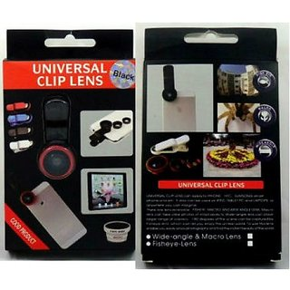 Universal 3 in 1 Clip Lens for Selfies