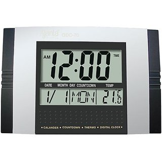 Ajanta Digital Clock ODC 70 Black Colour