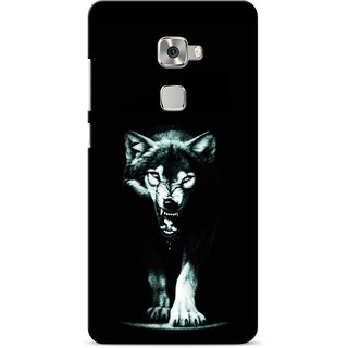 G.store Printed Back Covers for Huawei Mate S Black