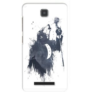 G.store Printed Back Covers for Lenovo A1900 White