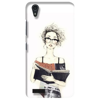 G.store Printed Back Covers for Lenovo A3900 White