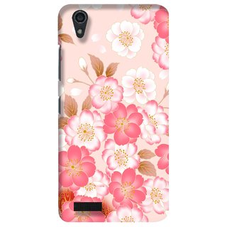 G.store Printed Back Covers for Lenovo A3900 Pink