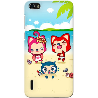 G.store Printed Back Covers for Huawei Honor 6 Multi
