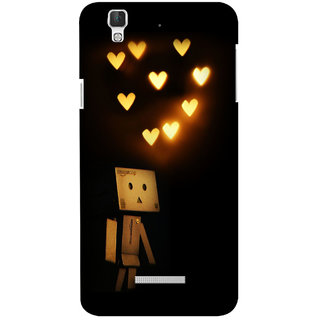 G.store Printed Back Covers for Coolpad Dazen F2 Black