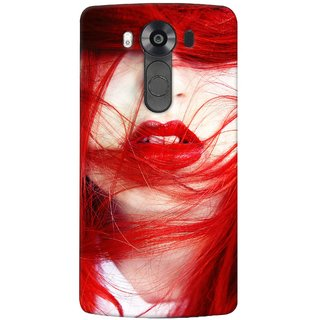 G.store Printed Back Covers for LG V10 Red