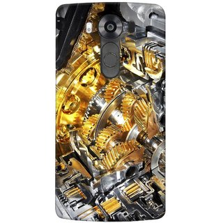 G.store Printed Back Covers for LG V10 Yellow