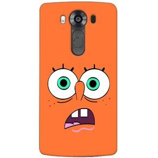 G.store Printed Back Covers for LG V10 Orange