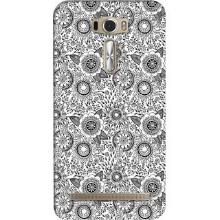 G.store Printed Back Covers for Asus ZenFone 2 Laser (ZE601KL) White