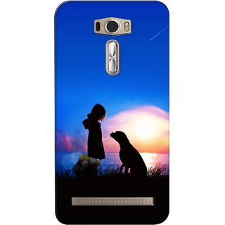 G.store Printed Back Covers for Asus ZenFone 2 Laser (ZE601KL) Blue
