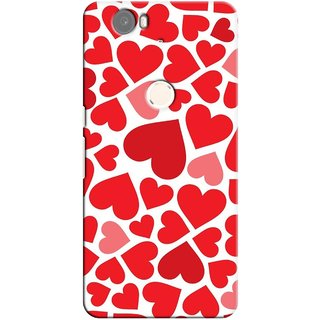 G.store Printed Back Covers for Huawei Nexus 6P Red