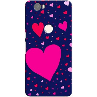 G.store Printed Back Covers for Huawei Nexus 6P Blue
