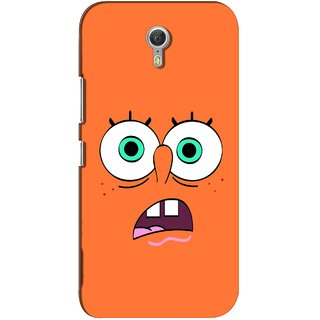 G.store Printed Back Covers for Lenovo ZUK Z1 Orange