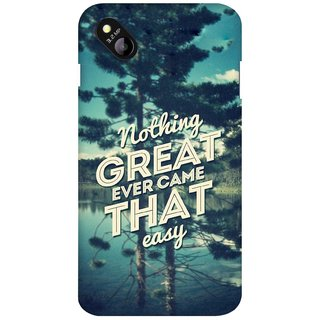 G.store Printed Back Covers for Micromax Bolt D303 Green