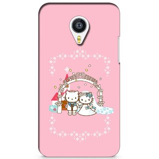 G.store Printed Back Covers for Meizu MX4 Pink