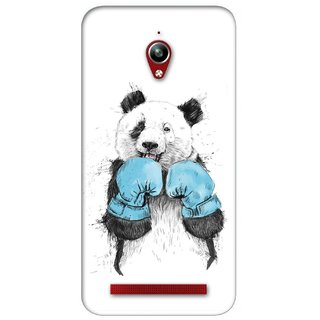 G.store Printed Back Covers for Asus ZenFone Go White