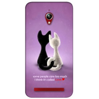 G.store Printed Back Covers for Asus ZenFone Go Purple