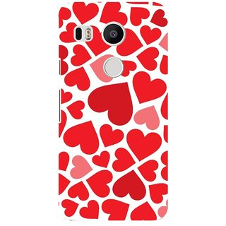 G.store Printed Back Covers for LG Google Nexus 5X Red