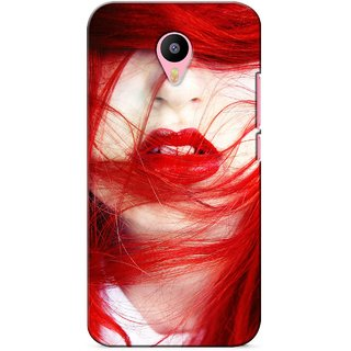 G.store Printed Back Covers for Meizu M2 Note Red