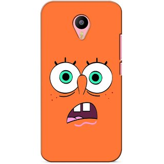 G.store Printed Back Covers for Meizu M2 Note Orange