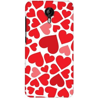G.store Printed Back Covers for Micromax Canvas Nitro 3 E455  Red
