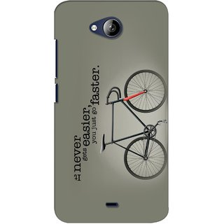 G.store Printed Back Covers for Micromax Canvas Play Q355 Grey
