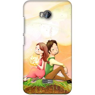 G.store Printed Back Covers for Micromax Bolt Q336 Multi