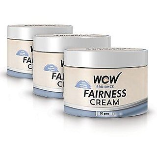 Wow Fairness Cream (Pack Of 3)
