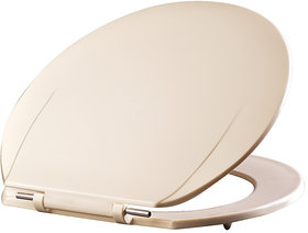 Seat Cover/ Toilet Seat Cover (Heavy,Ivory)