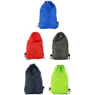 Roadeez Multi-Colour Drawstring Bag (Combo of 5)