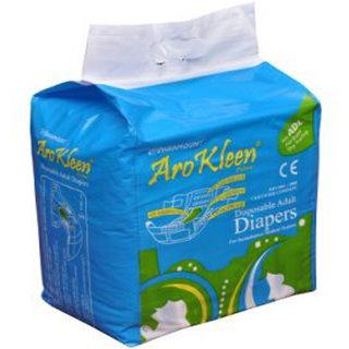 Arokleen Disposable Adult Diaper - Large (Set of 4)