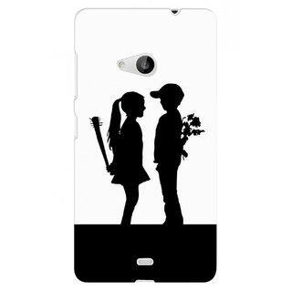 G.store Hard Back Case Cover For Microsoft Lumia 535